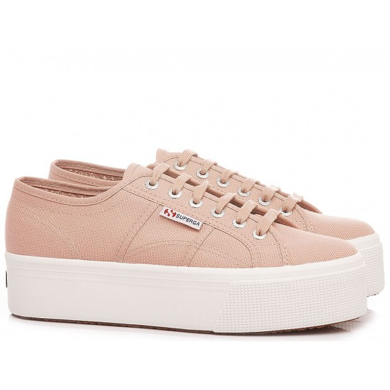 Superga Women's Sneakers 2790 COTW Linea UP And Down Pink
