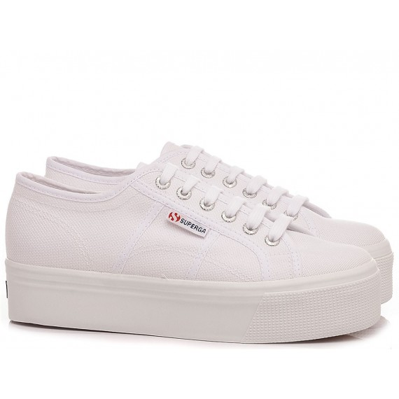 Superga Women's Sneakers 2790 COTW Linea UP And Down White