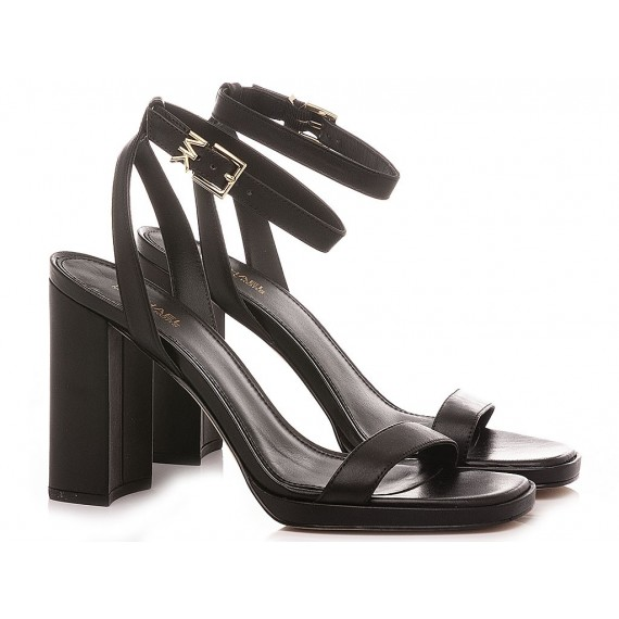 Michael Kors Women's Sandals Leather Black