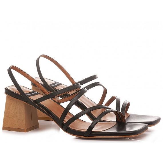 Angel Alarcon Women's Sandals 21017 Black