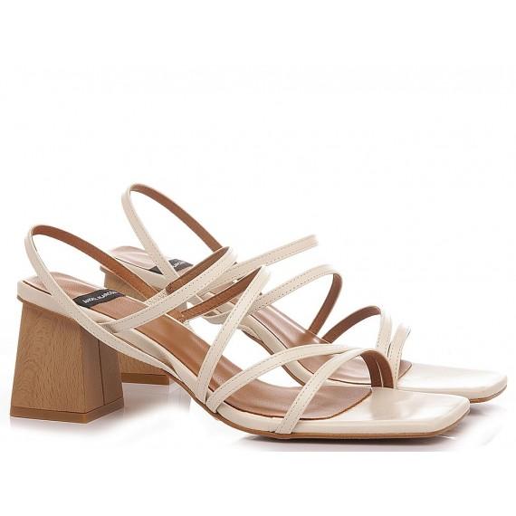 Angel Alarcon Women's Sandals 21017 Cream
