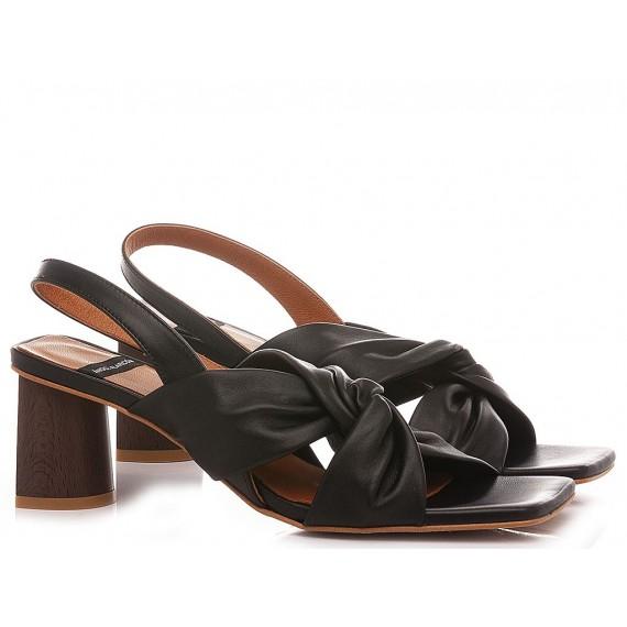 Angel Alarcon Women's Sandals 21023 Black