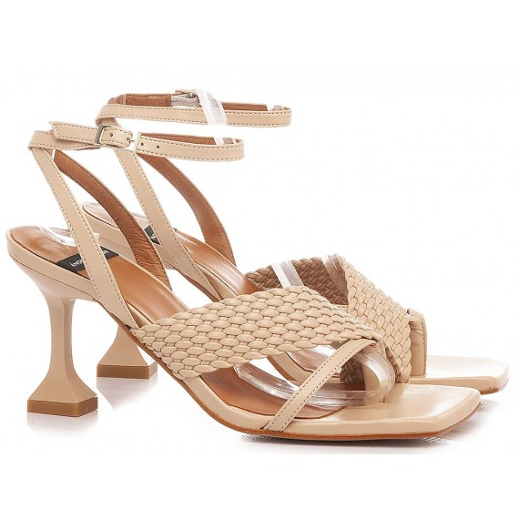 Angel Alarcon Women's Sandals 21038 Nude