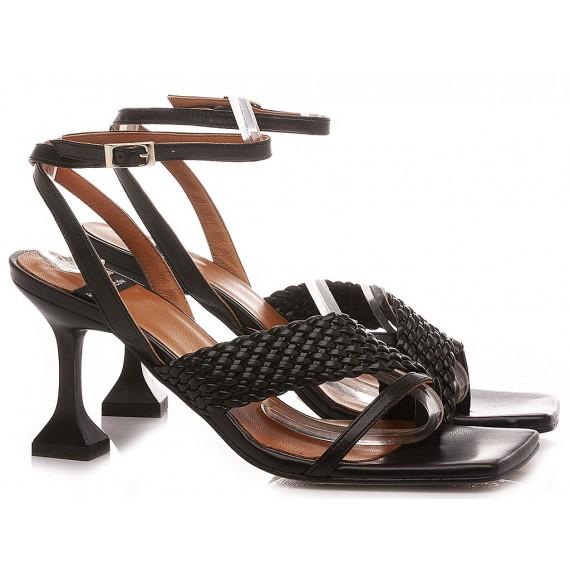Angel Alarcon Women's Sandals 21038 Black