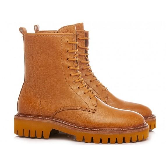Elvio Zanon Women's Ankle Boots EN0701X Tan