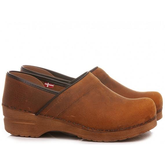 Sanita Women's Sandals Leather Chestnut 474406