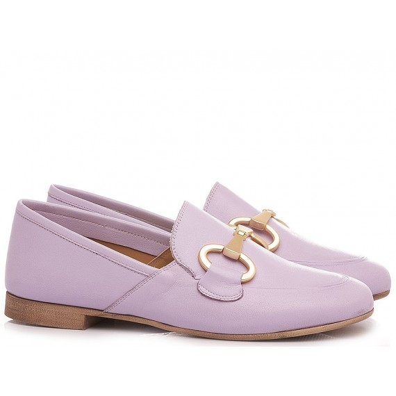 Giacko Women's Loafers Leather Wisteria