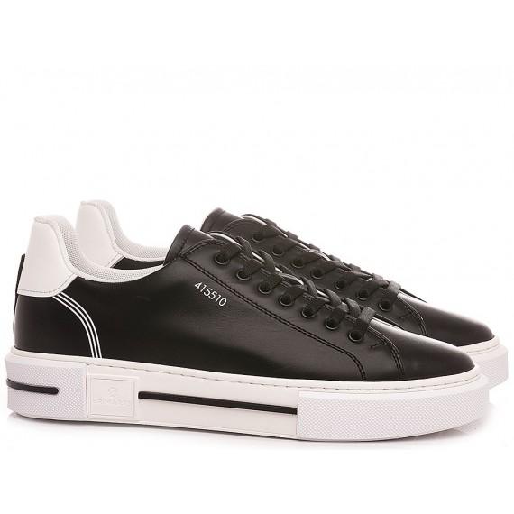 Brimarts Men's Sneakers 415510P Black