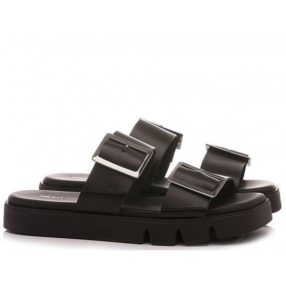 Frau Women's Slippers 8772 Black