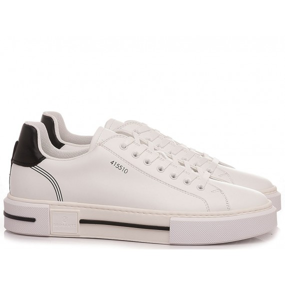 Brimarts Men's Sneakers 415510P White