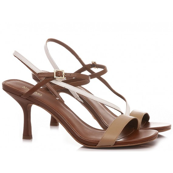 Michael Kors Women's Sandals Leather Tan