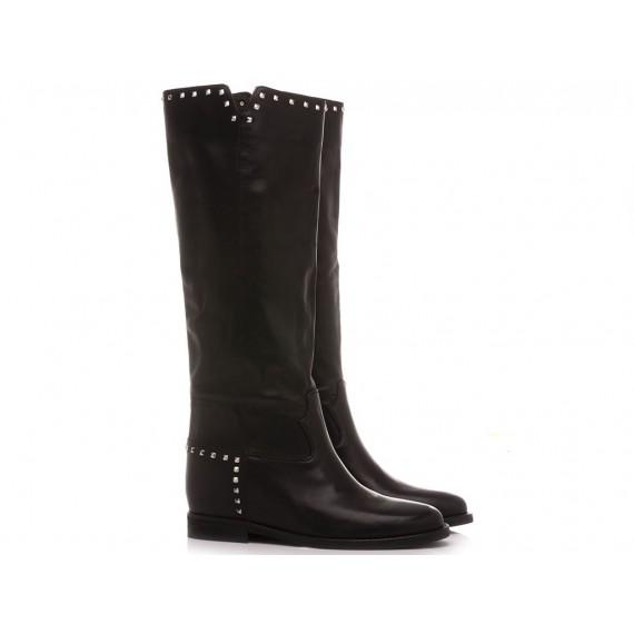 Kammi Women's Boots Leather Black T52B