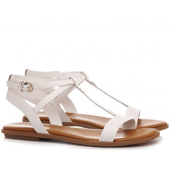 Tommy Hilfiger Women's Sandals Feminine Leather Flat FW0FW05628