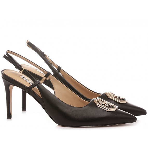Guess Women's Shoes Chanel Black