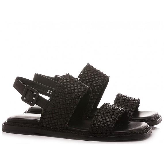 Elvio Zanon Women's Sandals EN1306X Black
