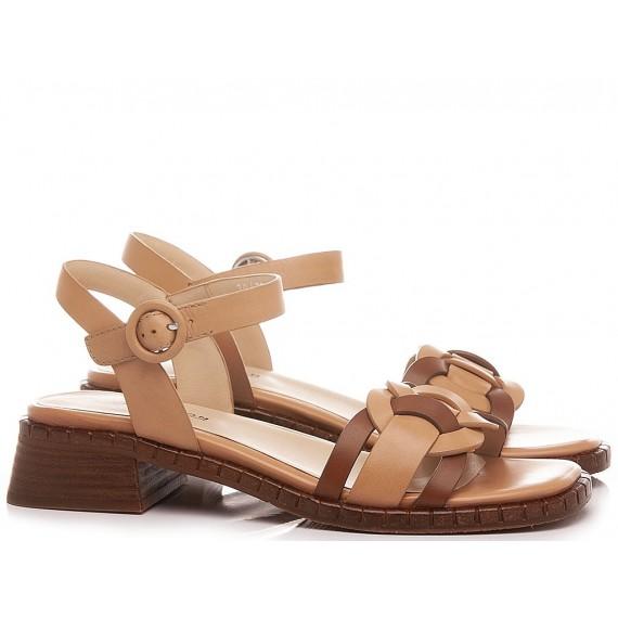 Elvio Zanon Women's Sandals EN1401X Nude-Tan