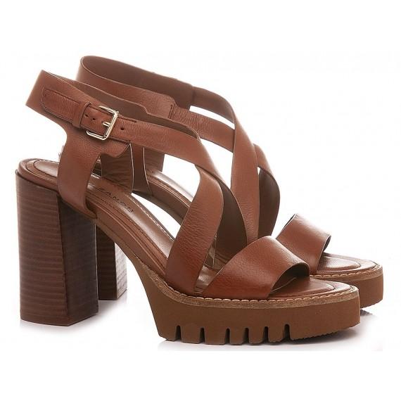 Elvio Zanon Women's Sandals EN0902X Tan