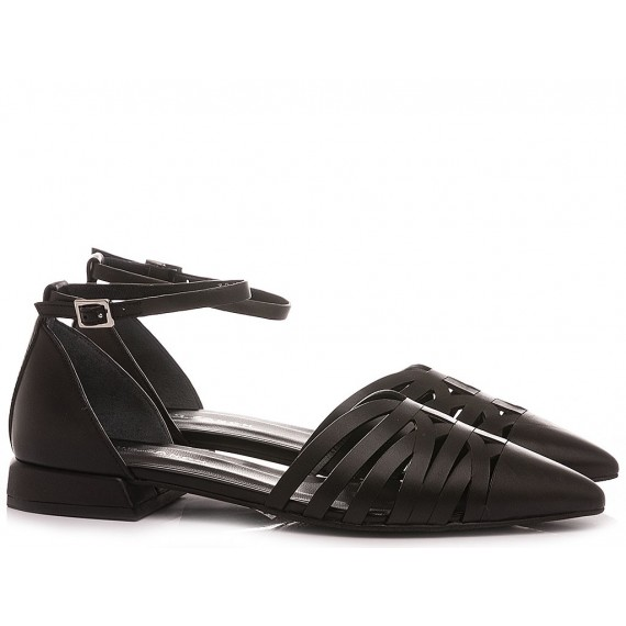 Elvio Zanon Ballerine Donna EN1801X Black