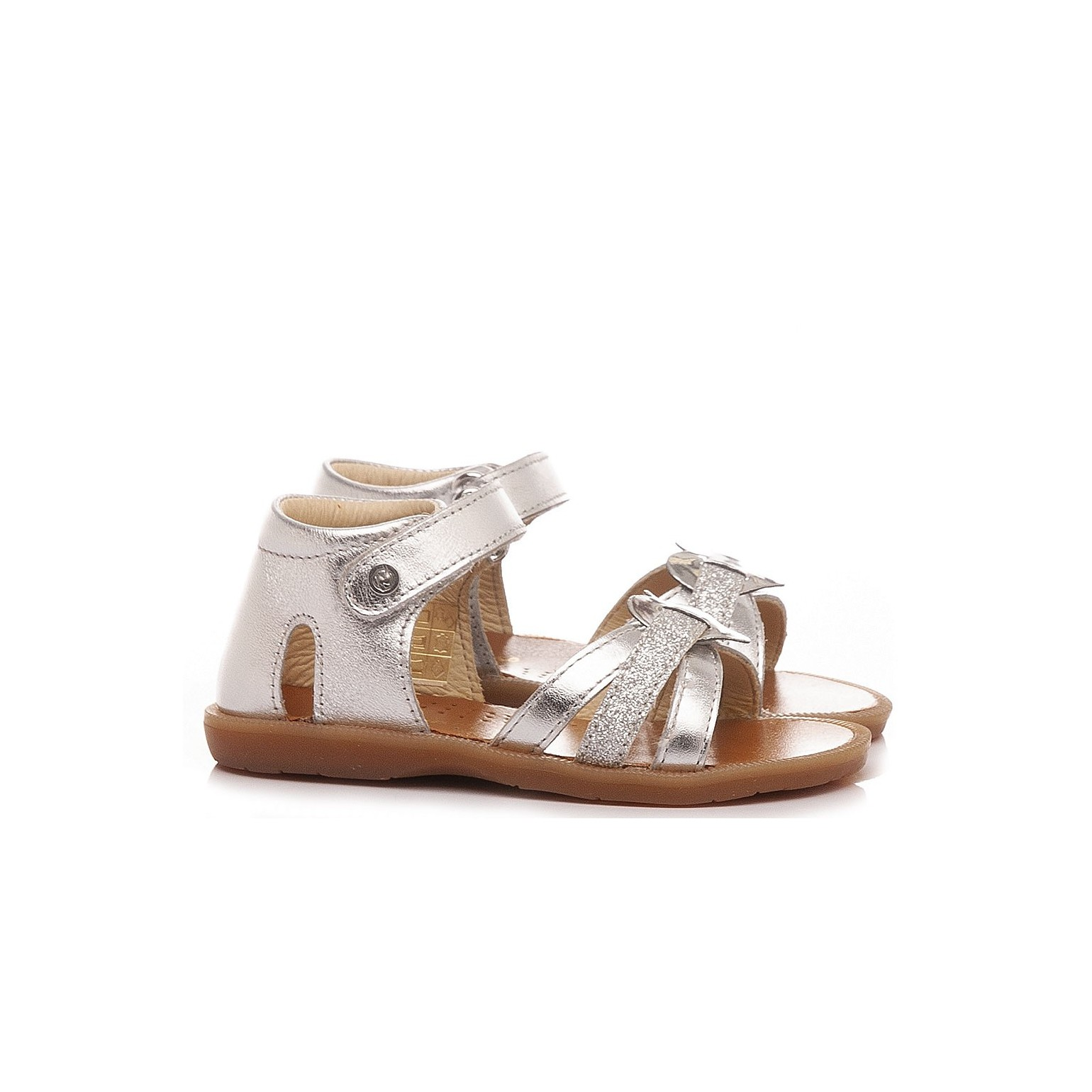 Naturino  Girl's Sandals Leather Gold 5042
