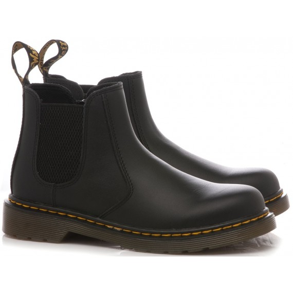 Dr. Martens Uomo Chelsea Boot Black Smooth 10297001